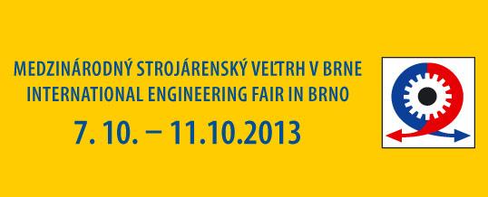 Pozvánka na medzinárodný strojársky veľtrh do Brna