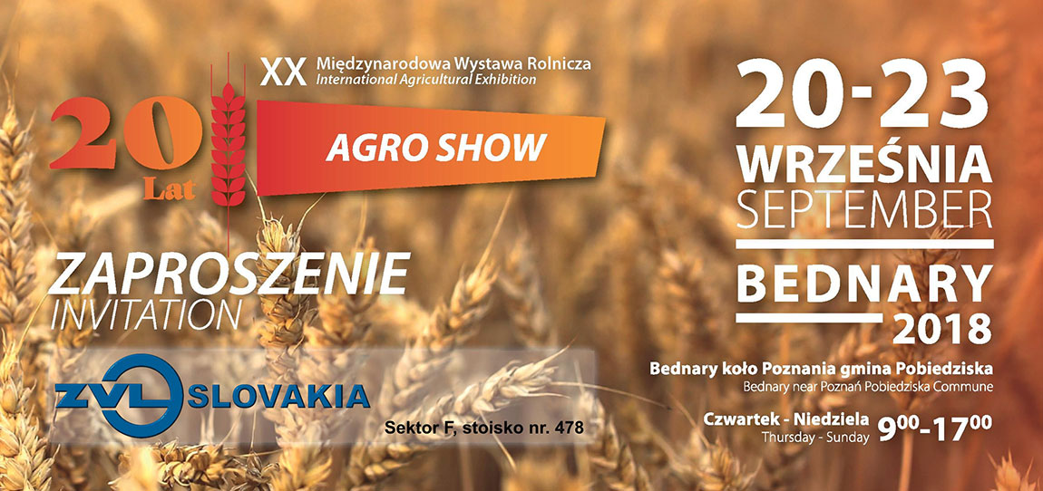 AGRO SHOW 2018