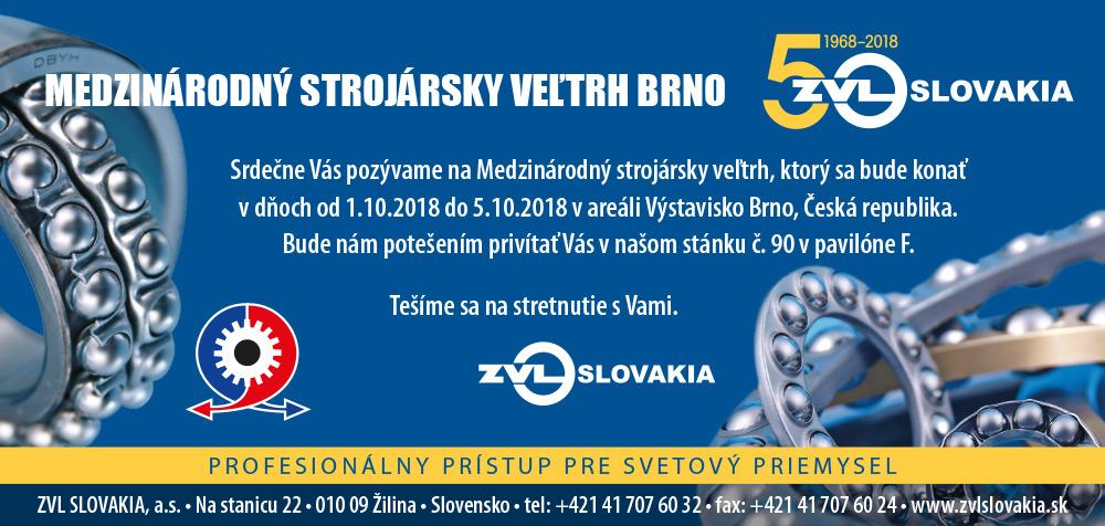 Mezinárodní strojírenský veletrh Brno 2018