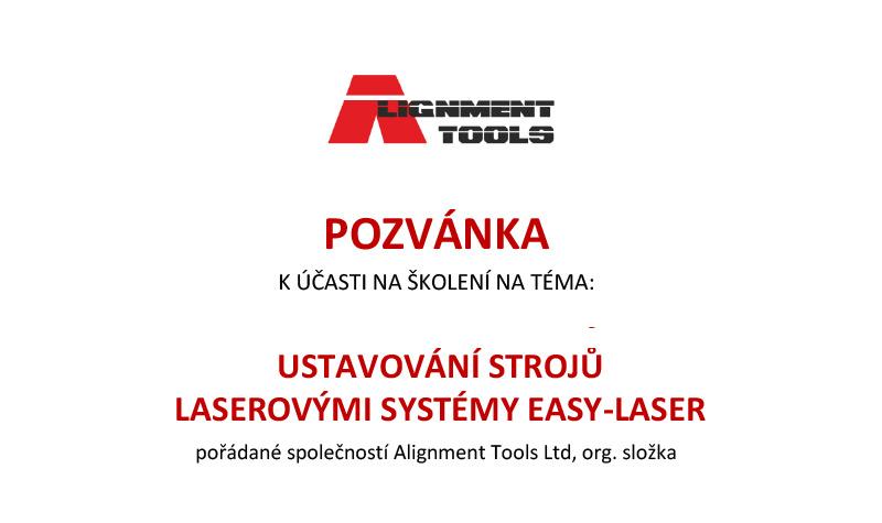 Ustavování strojů Laserovými systémy EASY-LASER